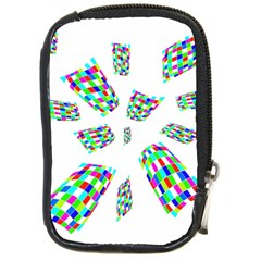 Colorful Abstraction Compact Camera Cases by Valentinaart