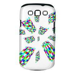 Colorful Abstraction Samsung Galaxy S Iii Classic Hardshell Case (pc+silicone) by Valentinaart
