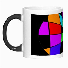 Abstract Colorful Flower Morph Mugs by Valentinaart