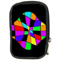 Abstract Colorful Flower Compact Camera Cases by Valentinaart