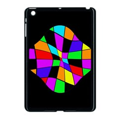 Abstract Colorful Flower Apple Ipad Mini Case (black) by Valentinaart