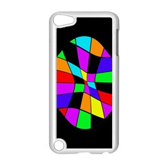 Abstract Colorful Flower Apple Ipod Touch 5 Case (white) by Valentinaart