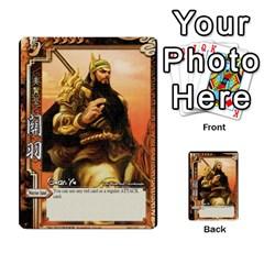 Sanguosha 2 By Jason Han   Multi Purpose Cards (rectangle)   H1476v8q7zis   Www Artscow Com Front 18