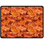 Bacon! Fleece Blanket (Large)