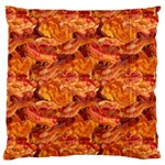 Bacon & Pizza Standard Flano Cushion Case (Two Sides)