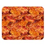 Bacon & Pizza Double Sided Flano Blanket (Large)