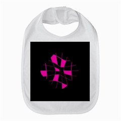Pink Abstract Flower Bib by Valentinaart