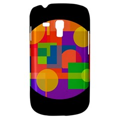 Colorful Circle  Samsung Galaxy S3 Mini I8190 Hardshell Case by Valentinaart