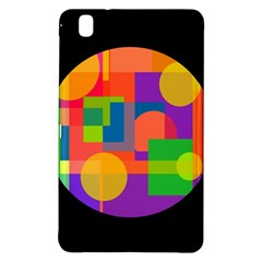 Colorful Circle  Samsung Galaxy Tab Pro 8 4 Hardshell Case by Valentinaart