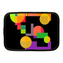 Colorful Abstraction Netbook Case (medium)  by Valentinaart