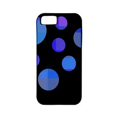Blue Circles  Apple Iphone 5 Classic Hardshell Case (pc+silicone) by Valentinaart