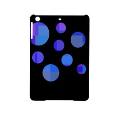 Blue Circles  Ipad Mini 2 Hardshell Cases by Valentinaart