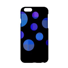 Blue Circles  Apple Iphone 6/6s Hardshell Case by Valentinaart