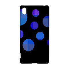 Blue Circles  Sony Xperia Z3+ by Valentinaart