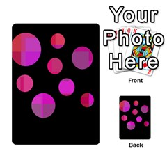Pink Abstraction Multi Purpose Cards (rectangle)  by Valentinaart
