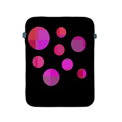 Pink Abstraction Apple Ipad 2/3/4 Protective Soft Cases by Valentinaart