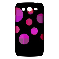 Pink Abstraction Samsung Galaxy Mega 5 8 I9152 Hardshell Case  by Valentinaart