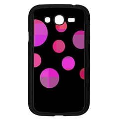 Pink Abstraction Samsung Galaxy Grand Duos I9082 Case (black) by Valentinaart