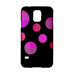 Pink Abstraction Samsung Galaxy S5 Hardshell Case  by Valentinaart