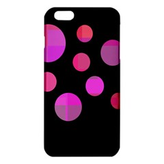 Pink Abstraction Iphone 6 Plus/6s Plus Tpu Case by Valentinaart