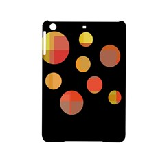 Orange Abstraction Ipad Mini 2 Hardshell Cases by Valentinaart