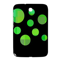 Green Circles Samsung Galaxy Note 8 0 N5100 Hardshell Case  by Valentinaart