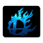 Smash Bros. Blue Mousepad - Large Mousepad