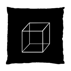 Simple Cube Standard Cushion Case (two Sides) by Valentinaart