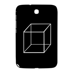 Simple Cube Samsung Galaxy Note 8 0 N5100 Hardshell Case  by Valentinaart