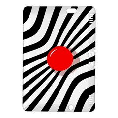 Abstract Red Ball Kindle Fire Hdx 8 9  Hardshell Case by Valentinaart