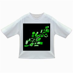 Green Decorative Abstraction Infant/toddler T Shirts by Valentinaart