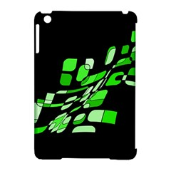 Green Decorative Abstraction Apple Ipad Mini Hardshell Case (compatible With Smart Cover) by Valentinaart