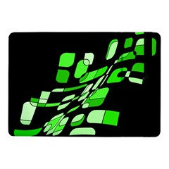 Green Decorative Abstraction Samsung Galaxy Tab Pro 10 1  Flip Case by Valentinaart
