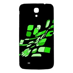 Green Decorative Abstraction Samsung Galaxy Mega I9200 Hardshell Back Case by Valentinaart