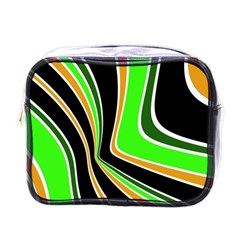 Colors Of 70 s Mini Toiletries Bags by Valentinaart