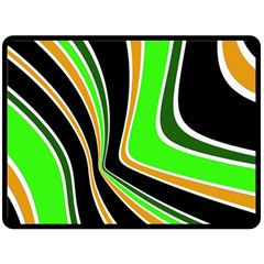 Colors Of 70 s Double Sided Fleece Blanket (large)  by Valentinaart