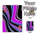Colors of 70 s Playing Cards 54 Designs  Front - HeartJ