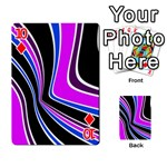 Colors of 70 s Playing Cards 54 Designs  Front - Diamond10