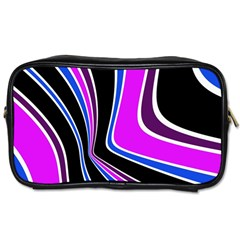 Colors Of 70 s Toiletries Bags 2 Side by Valentinaart