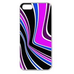 Colors Of 70 s Apple Seamless Iphone 5 Case (clear) by Valentinaart