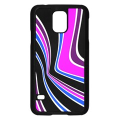 Colors Of 70 s Samsung Galaxy S5 Case (black) by Valentinaart