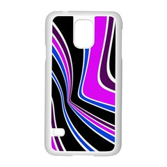 Colors Of 70 s Samsung Galaxy S5 Case (white) by Valentinaart
