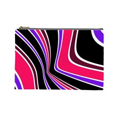 Colors Of 70 s Cosmetic Bag (large)  by Valentinaart