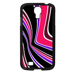 Colors Of 70 s Samsung Galaxy S4 I9500/ I9505 Case (black) by Valentinaart