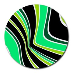 Colors Of 70 s Round Mousepads by Valentinaart