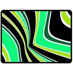 Colors Of 70 s Fleece Blanket (large)  by Valentinaart