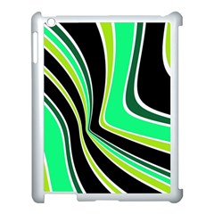Colors Of 70 s Apple Ipad 3/4 Case (white) by Valentinaart