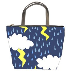Thunderstorms Bucket Bags by BubbSnugg