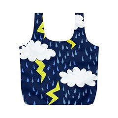Thunderstorms Full Print Recycle Bags (m)  by BubbSnugg