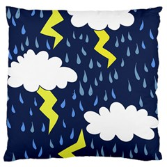Thunderstorms Standard Flano Cushion Case (two Sides)